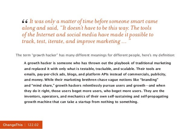 """It was only a matter of time before someone smart came  """"  along and said, """"It doesn't have to be this way. The tools  of ..."""
