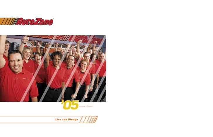 ®           '05             Annual Report         Live the Pledge