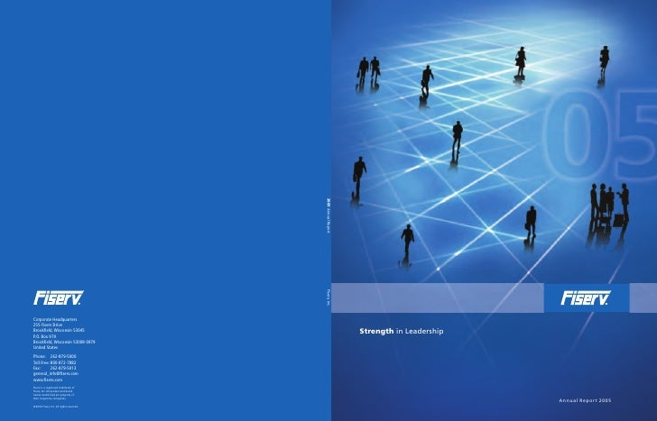 Strength in Leadership                              Annual Report 2005