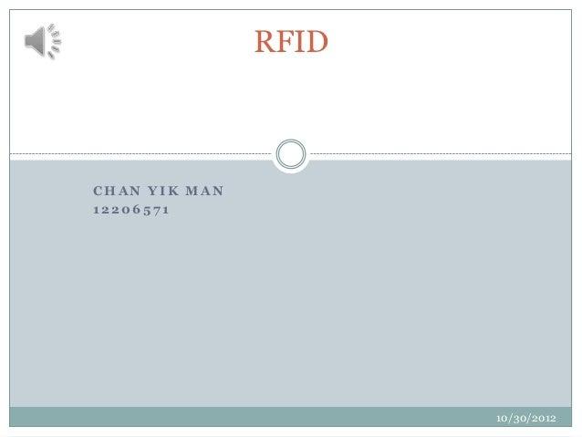 RFIDCHAN YIK MAN12206571                      10/30/2012