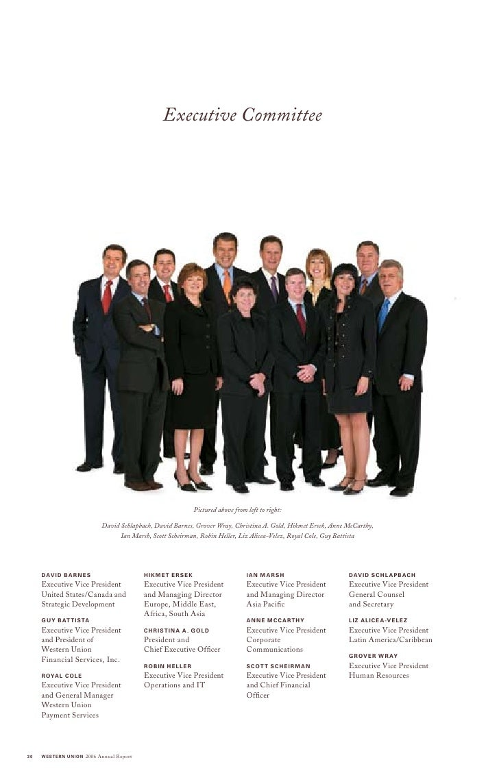 Western Union Annual Reports 2006