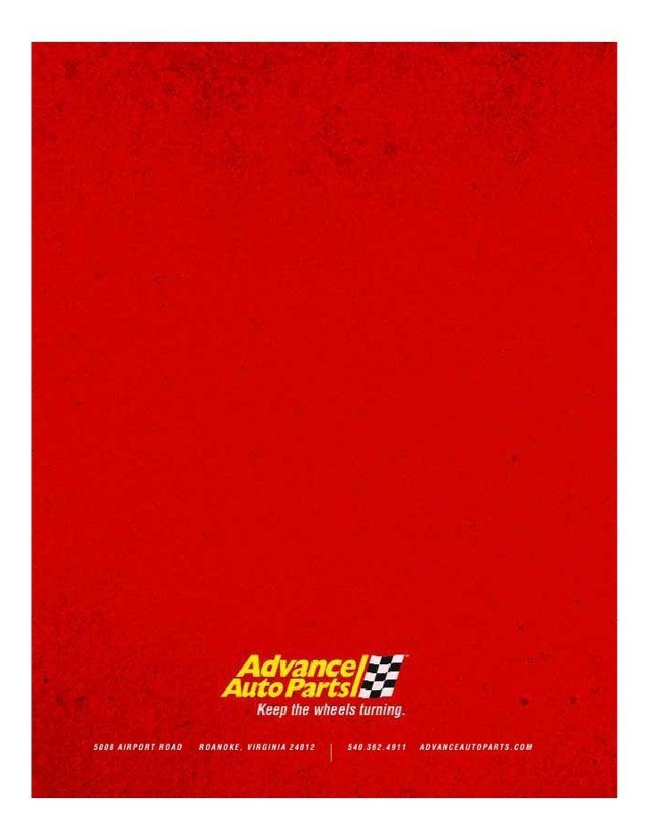 advance auto parts 2007_AR
