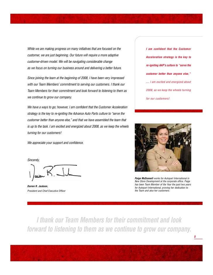 ADVANCE AUTO PARTS                 2007 ANNUAL REPORT                                                                     ...