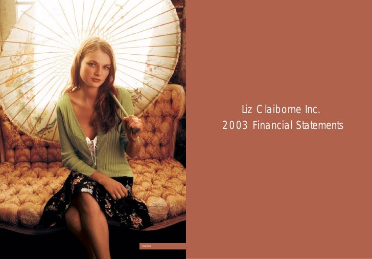 an analysis of liz claiborne inc An analysis of liz claiborne inc schau, university of california, irvine browse the analysis of the aims and purpose of progressive business consulting list of names.