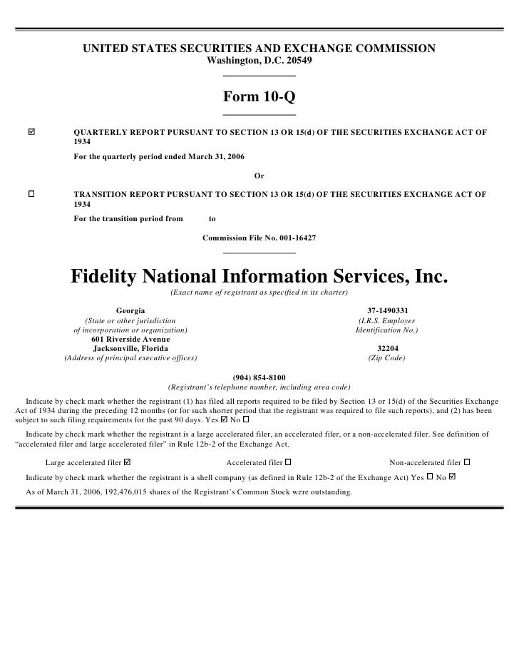 UNITED STATES SECURITIES AND EXCHANGE COMMISSION                                                            Washington, D....