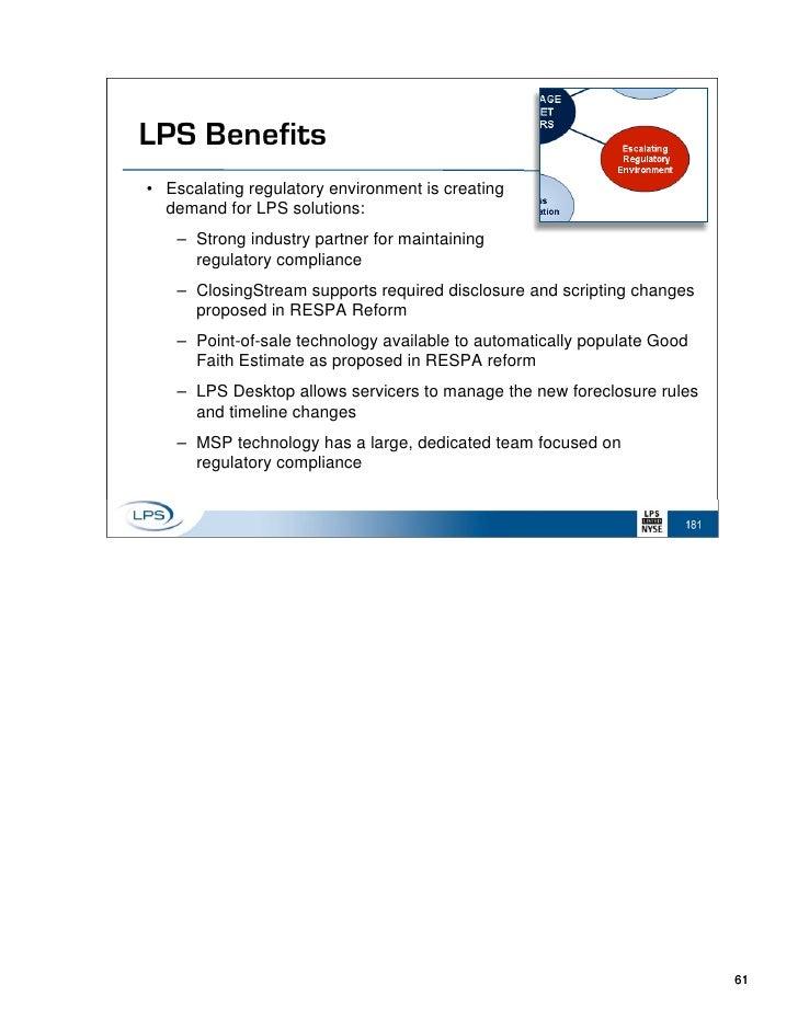 LPS Investor Day Presentation - Lps desktop invoice management