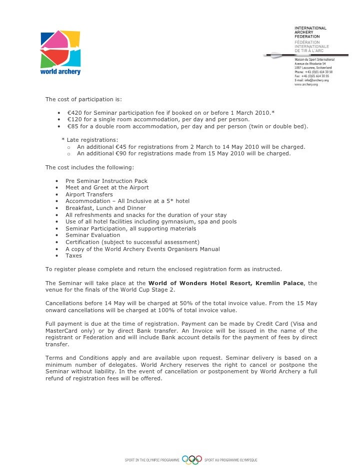 Invitation Letters Invitation Letter To Careers Expo  Npo
