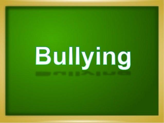 Terminologia  Assédio escolar, comumente referido pelo anglicismo bullying, é um termo utilizado para descreve...