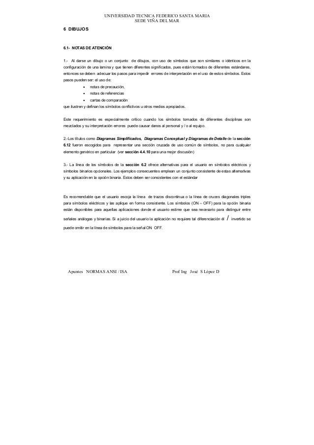 UNIVERSIDAD TECNICA FEDERICO SANTA MARIA                                    SEDE VIÑA DEL MAR6 DIBUJOS6.1- NOTAS DE ATENCI...