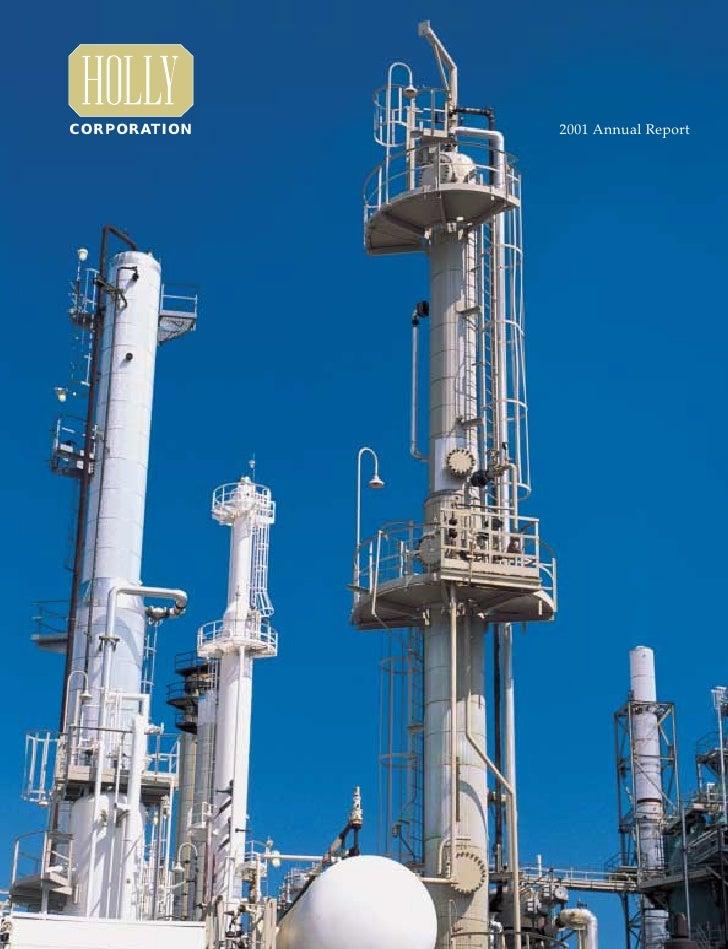 CORPORATION   2001 Annual Report