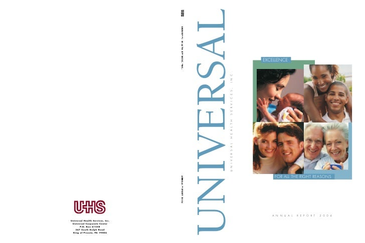 UNIVERSAL                    EXCELLENCE        INC.        SERVICES,        HEALTH        UNIVERSAL                       ...