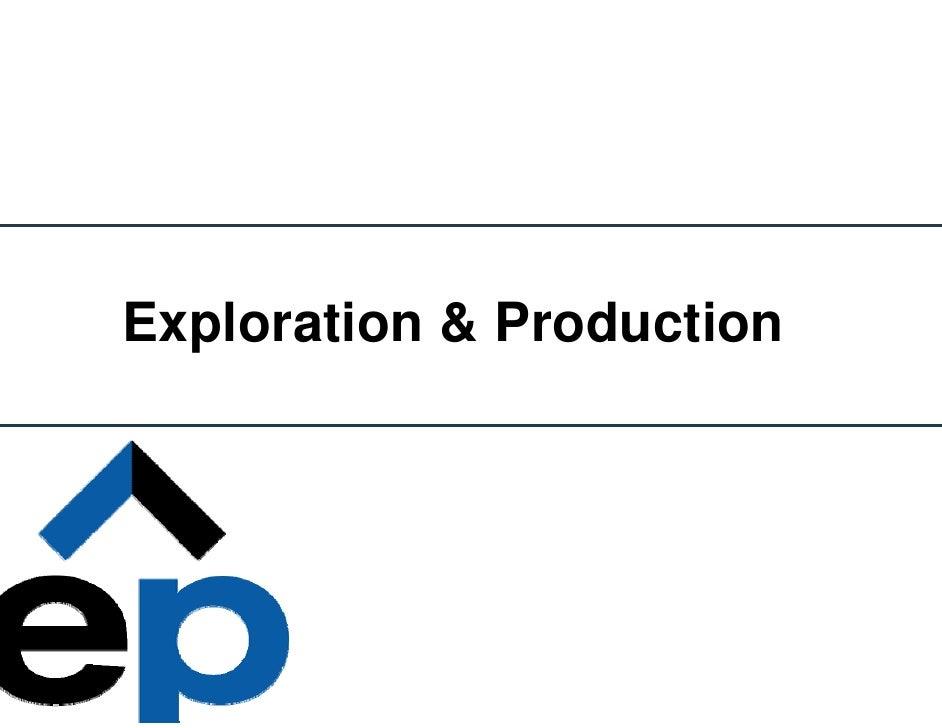 Exploration & Production