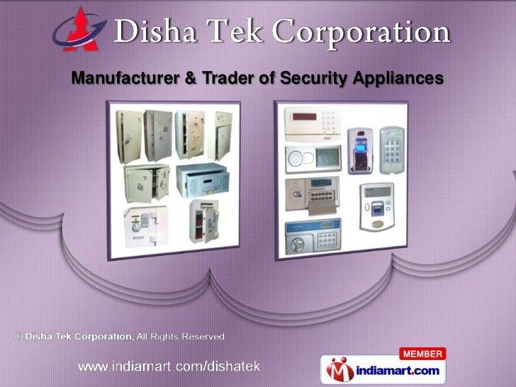 Manufacturer & Trader of Security Appliances