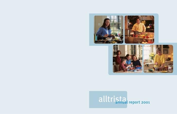 alltrista report 2001       annual