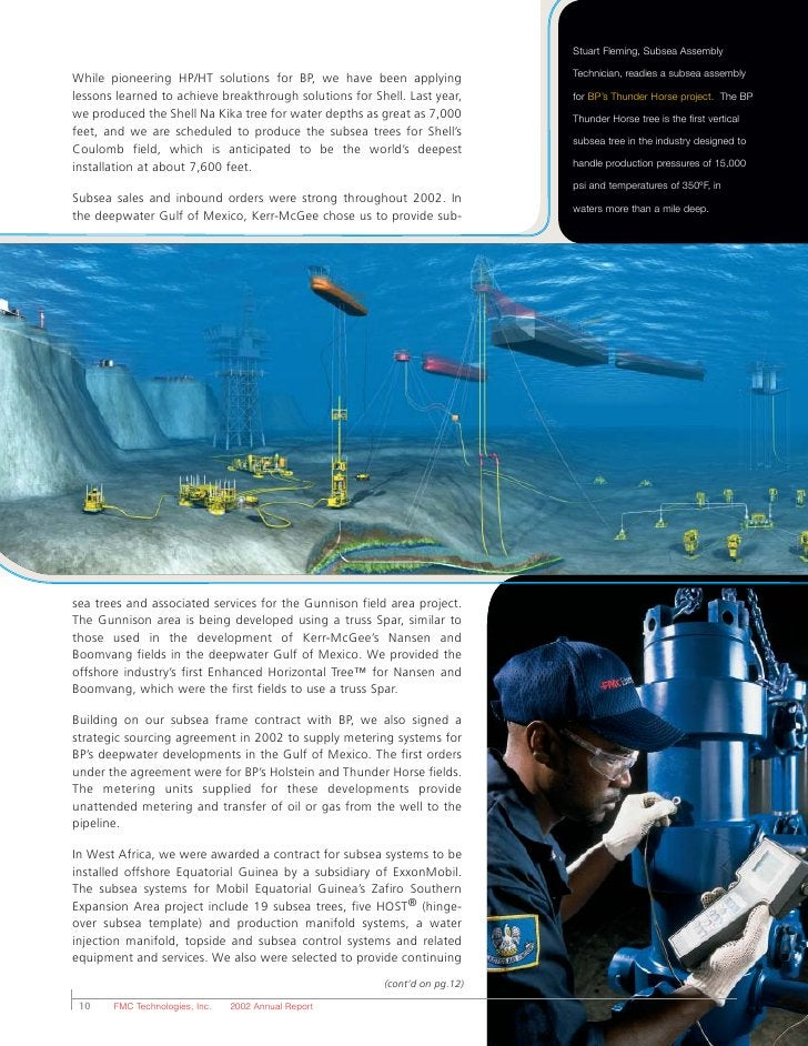 Stuart Fleming, Subsea Assembly  While pioneering HP/HT solutions for BP, we have been applying              Technician, r...