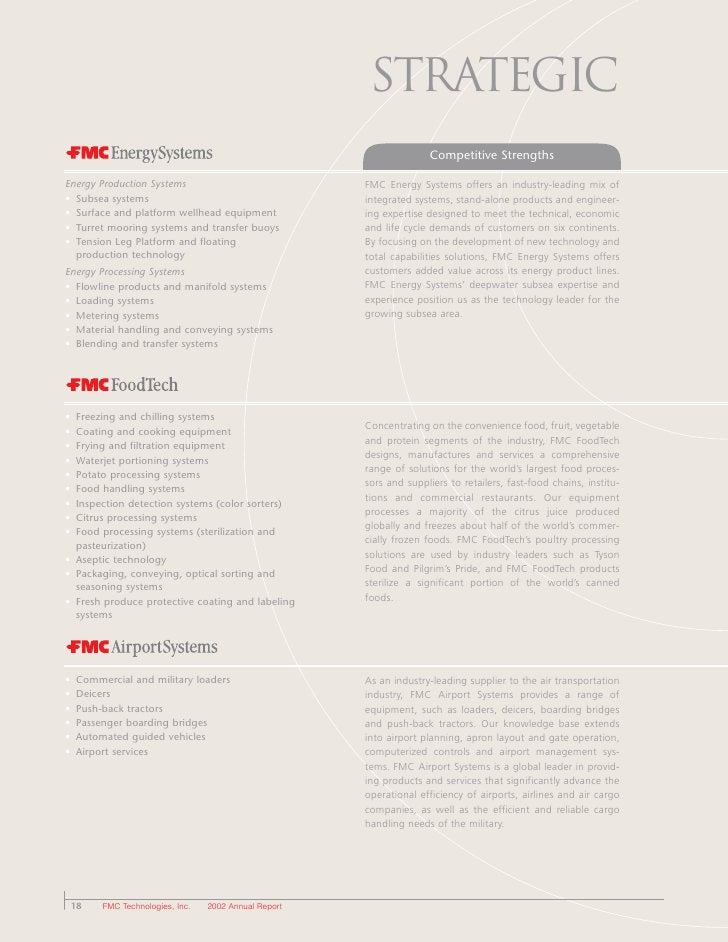 Strategic                                                                      Competitive Strengths  Energy Production Sy...