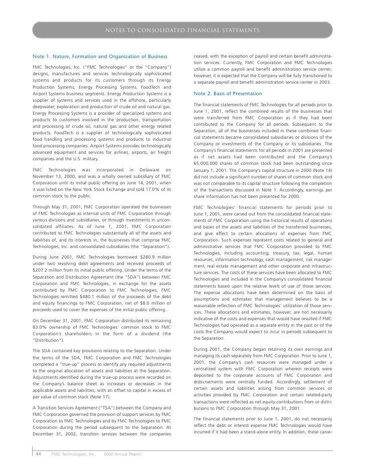 fmc technologies 2002ar