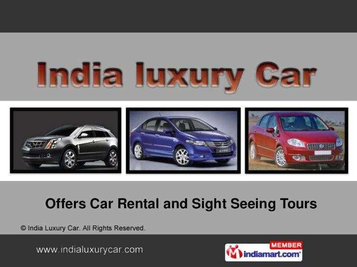 Offers Car Rental and Sight Seeing Tours