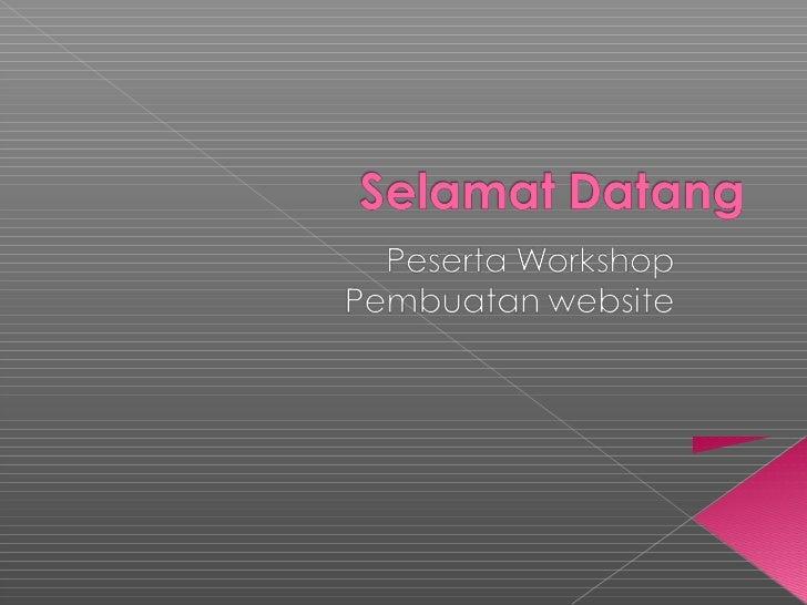 Websiteadalah halaman informasi yang disediakan melalui jalur internet     sehingga bisa diakses di seluruh dunia selama ...