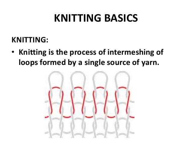 comprehension 1 knitting