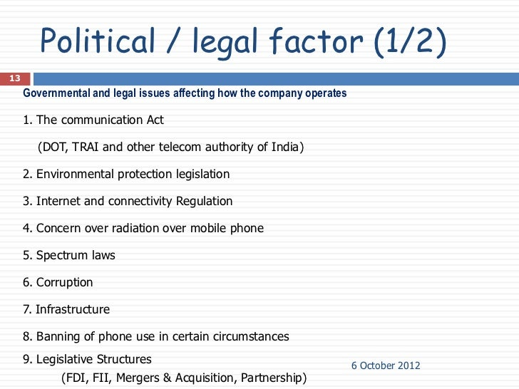 legal factors affecting virgin mobile We carefully consider environmental factors in every stage of the product life  cycle  retardants) in all newly personal and mobile computing products by  working  minimize the consumption of paper products containing virgin wood  fiber.