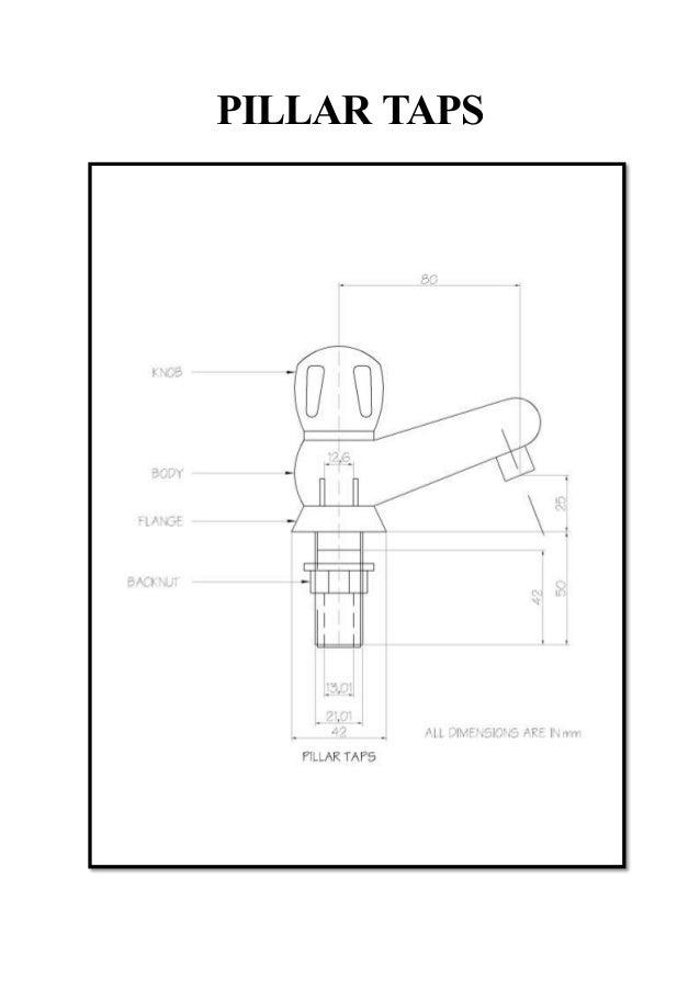 pillar and bib taps