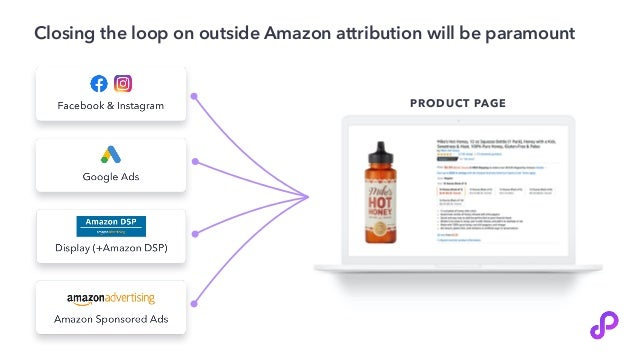 Closing the loop on outside Amazon attribution will be paramount PRODUCT PAGE