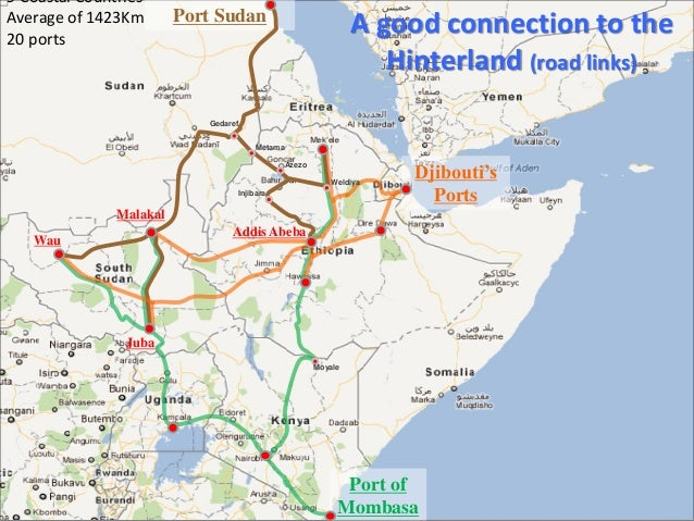 Djibouti ports infrastructure investments