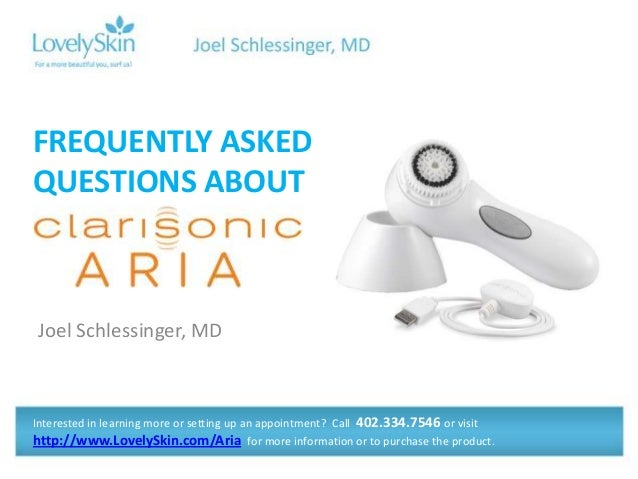 FREQUENTLY ASKEDQUESTIONS ABOUTJoel Schlessinger, MDInterested in learning more or setting up an appointment? Call 402.334...