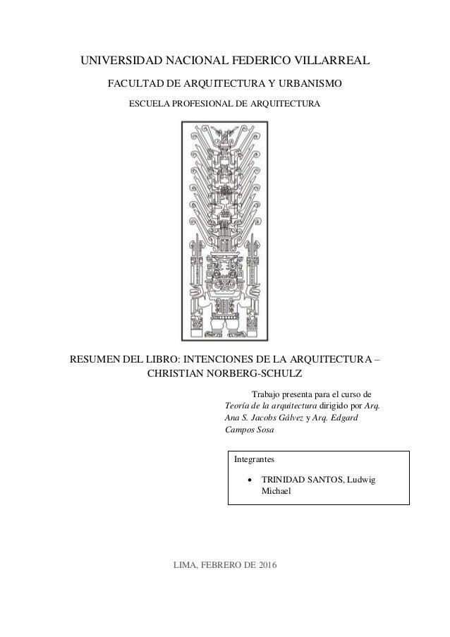 Resumen del libro intenciones de la arquitectura for Libro de dimensiones arquitectura