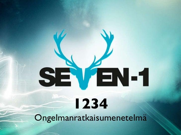 1234 Ongelmanratkaisumenetelmä