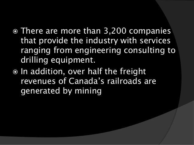 Mining impact on the economy of british columbia