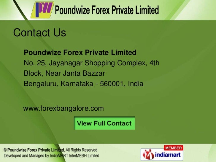 Canadian forex limited