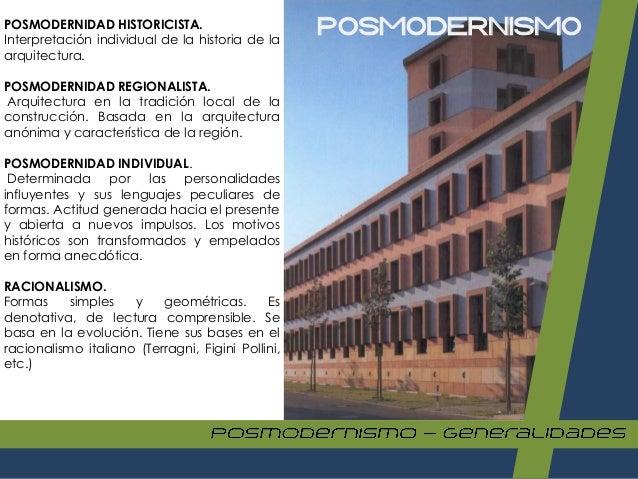 123649686 arquitectura posmoderna 1 pdf for Que es arquitectura definicion