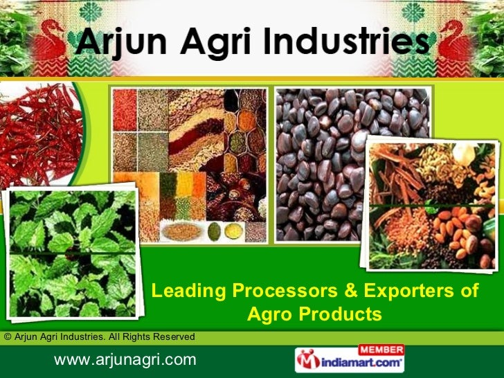 Leading Processors & Exporters of Agro Products