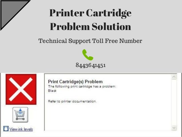 123 HP Priner Technical Support | HP Ink Cartridge Error Message - 84…