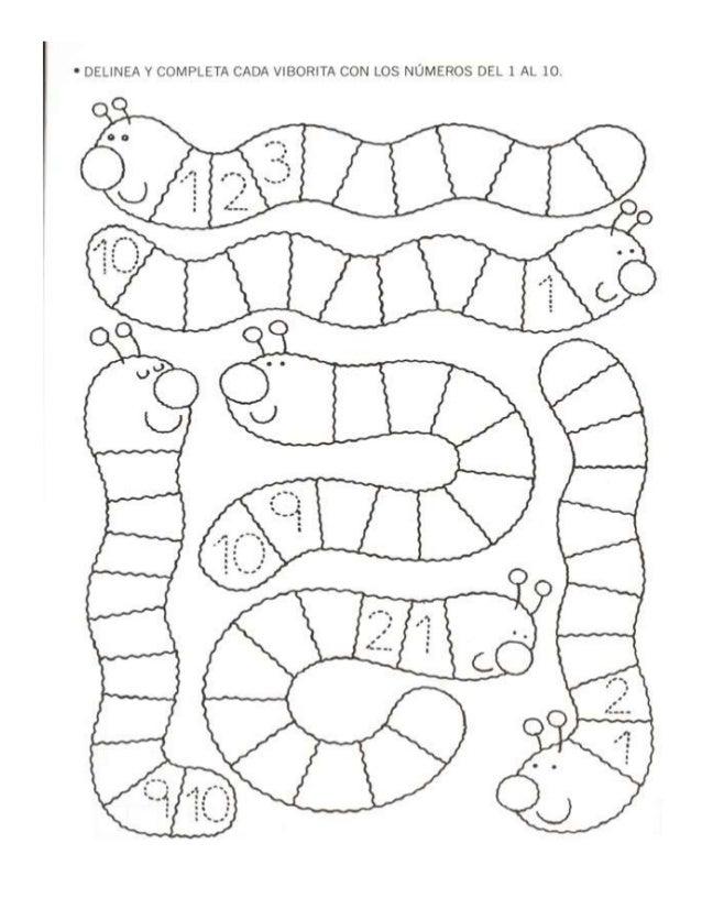 Perfecto Colorear Números 1 10 Modelo - Dibujos Para Colorear En ...