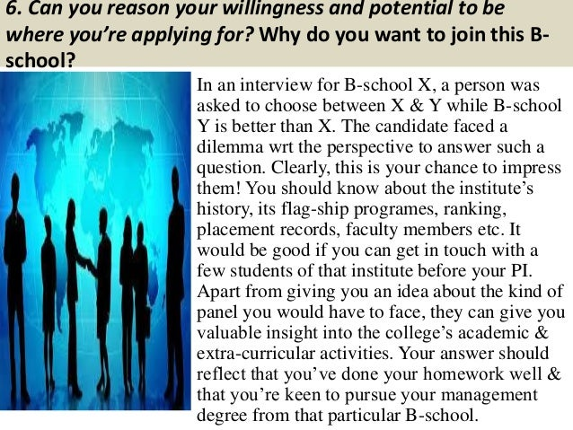 Mba College: Mba College Interview Questions And Answers