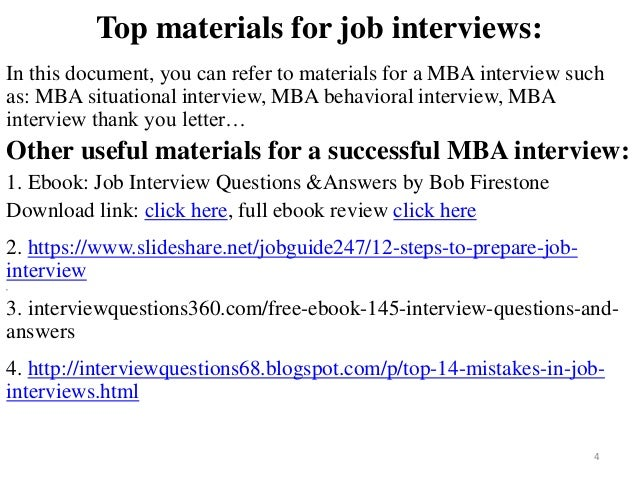 the ultimate guide to job interview answers bob firestone pdf