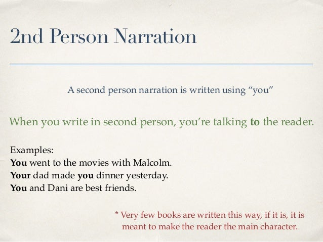 third person omniscient examples in books