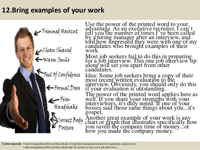 43 12bring examples of your work - Do You Like Your Job What Do You Like About Your Job Or Least Like