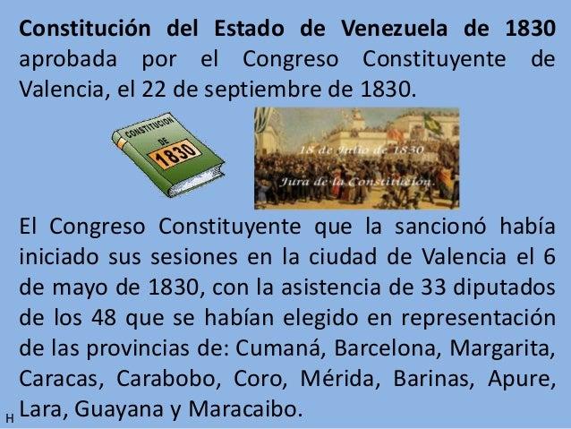 CONSTITUCION DE 1830 VENEZUELA EBOOK
