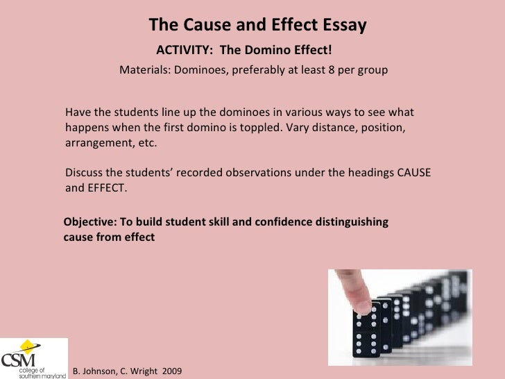 Teaching The Cause And Effect Essay Prompts - image 8