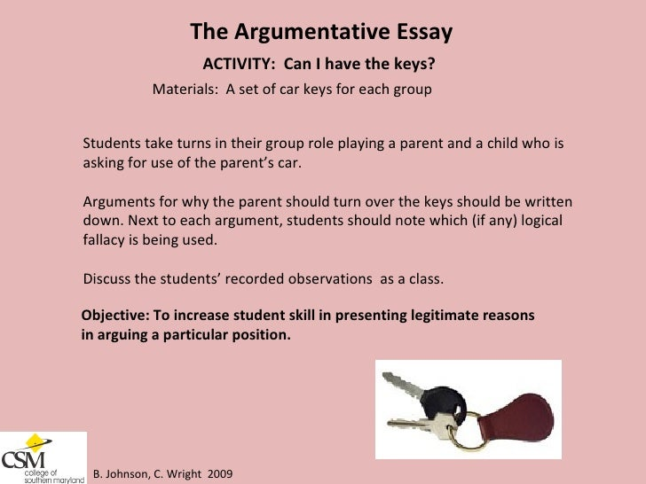 activities for teaching argumentative essay A comprehensive website for teaching argumentative essay i totally depended on this website for my teaching.