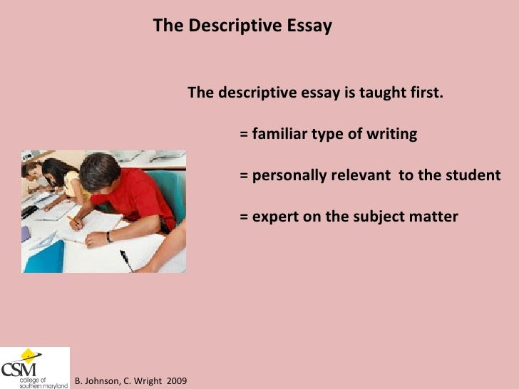 describe your teacher essay Essay about describe your teacher (creative writing exercises grade 1) on the blog: i wrote an essay about my divorce for cosmo, in which i write about writing about.