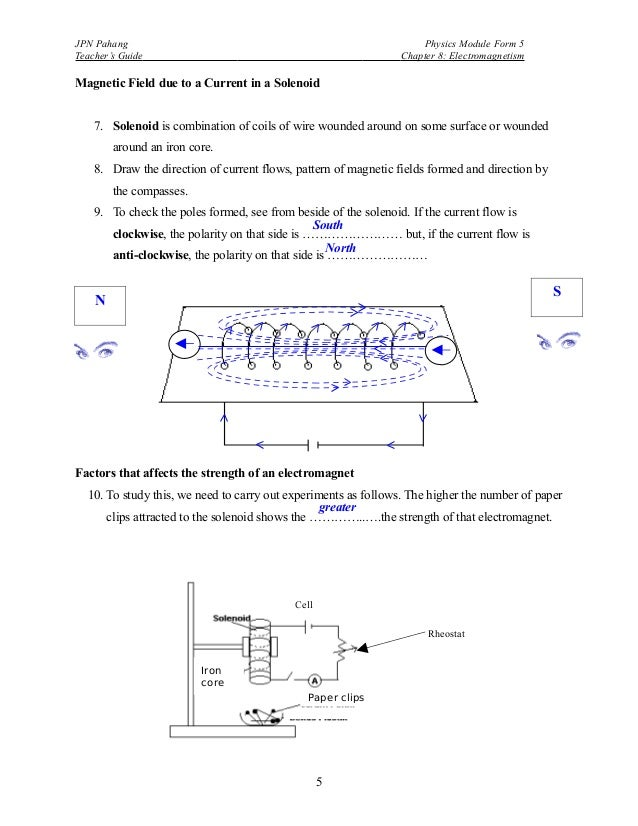 magnetic field due to solenoid pdf