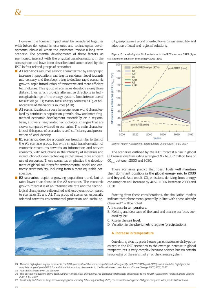 Position paper on negotiations on climate