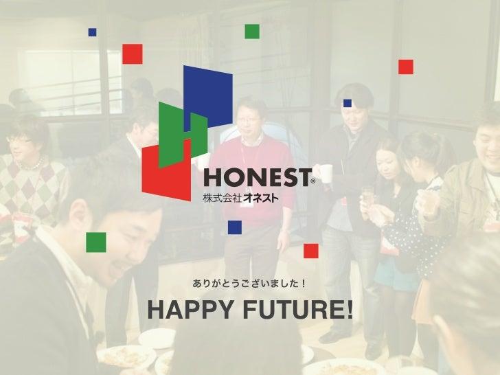 HAPPY FUTURE!