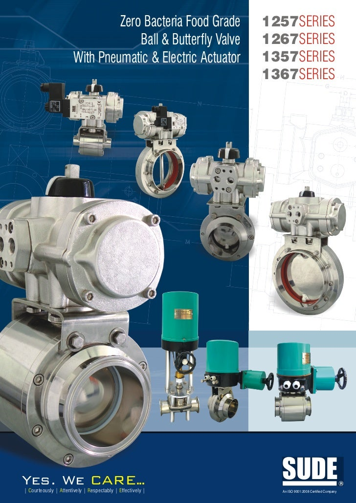 Zero Bacteria Food Grade     1257SERIES                                    Ball & Butterfly Valve   1267SERIES            ...
