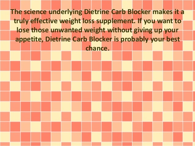 Special Offer On How Dietrine Carb Blocker Can Be Archived